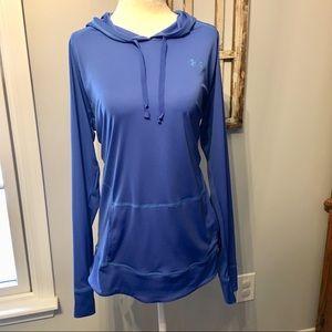 Women's Semi-Fitted Long Sleeve Hooded Heat Gear